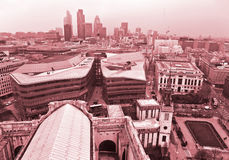 London horisont London, UK Arkivfoto