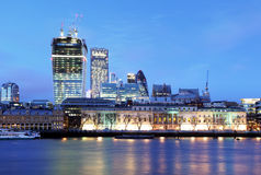 London horisont, UK, England Fotografering för Bildbyråer