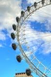 London horisontlandskap med Big Ben, slott av Westminster, London öga, Westminster bro, flodThemsen, London, England, UK Royaltyfri Foto