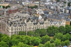 London horisontlandskap med Big Ben, slott av Westminster, London öga, Westminster bro, flodThemsen, London, England, UK Royaltyfri Fotografi