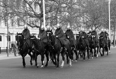 London Horse Guards Stock Image