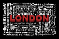 London - Host city Stock Image