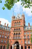 London hotell royaltyfri bild