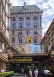 london hotelowy savoy Fotografia Royalty Free