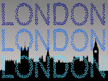 London house parlamentu Obrazy Stock