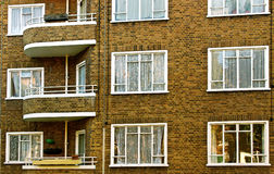 London houses. Stock Image