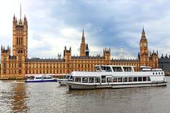 London.Houses del Parlamento Fotografie Stock
