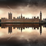 London - The Houses of Parliament Royalty Free Stock Image