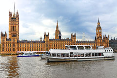 London.Houses of Parliament Stock Photos