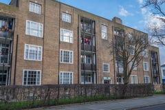 London houses on a sunny day Stock Photos