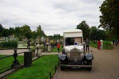 London Hyde Park Ice-Cream Vendor stock photo