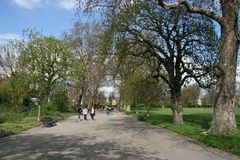 London Hyde Park Stock Image