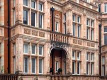 London hyreshus i Mayfair arkivbilder