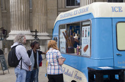 London Ice Cream Van Stock Image