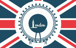 London icon design Royalty Free Stock Photography