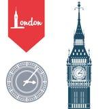 London icon design Royalty Free Stock Photo