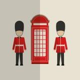 London icon design Royalty Free Stock Photos