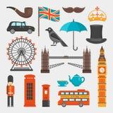 London Icon Set vector illustration