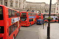 London iconic double decker Stock Images