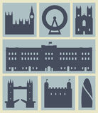 London icons. Stock Photos