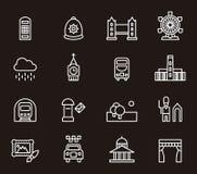 London icons Stock Photo