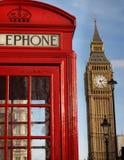 London-Ikonen Stockbild