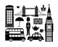 London-Ikonen Lizenzfreie Stockbilder