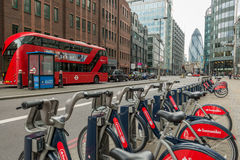 London-Ikonen Stockfoto