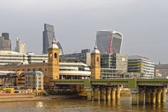 London im Bau Stockbilder