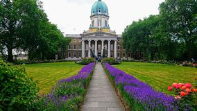 London. Imperial War Museum royalty free stock image