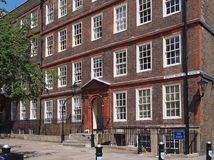 London Inns of Court. Historic 17th century building, London Inns of Court lawyers' offices Royalty Free Stock Images