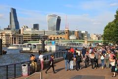 London invallning Arkivfoto