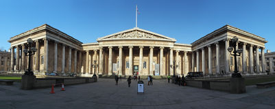 LONDON - JAN 5: The British Museum in London, England on January Royalty Free Stock Photos