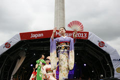 2013, London Japan Matsuri Stockbild