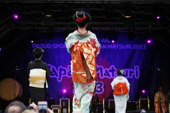 2013, London Japan Matsuri Royalty Free Stock Photo