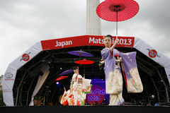 2013, London Japan Matsuri Royalty Free Stock Photography