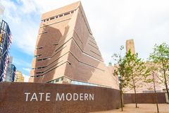 Tate modern museum building Stock Image