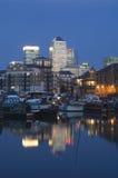 london kanarowy nabrzeże obraz stock