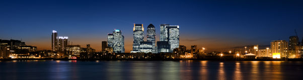 london kanarowy nabrzeże Fotografia Royalty Free