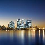 london kanarowy nabrzeże Fotografia Stock