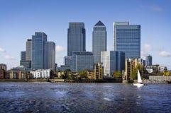 london kanarowy nabrzeże Zdjęcie Stock