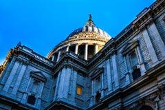 London katedralny Paul st Obrazy Stock