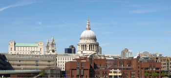 london katedralny st Paul Zdjęcia Royalty Free