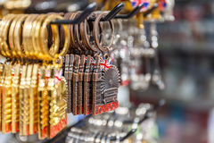 London keyring souvenirs Stock Images