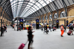 London King's Cross Royalty Free Stock Images