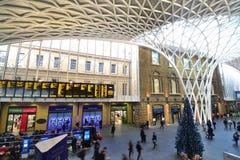 London King's Cross railway station. Stock Photo