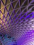 London Kings Cross Station Roof Stock Photos