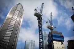 London konstruktion royaltyfri bild