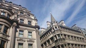 London kontorsbyggnad Royaltyfri Fotografi