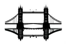London-Kontrollturm-Brücke Lizenzfreies Stockbild
